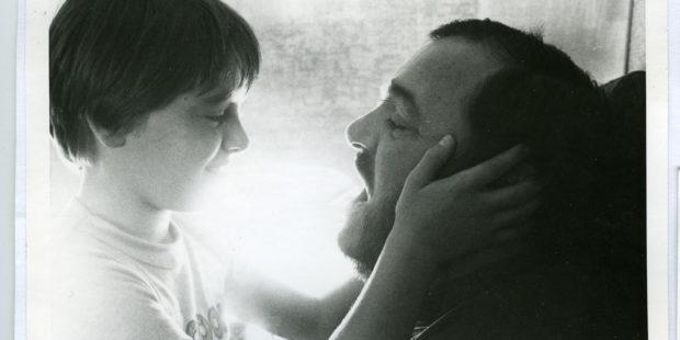 Luciano Pavarotti mit seiner Tochter