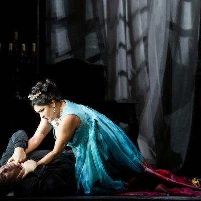 """Szenenbild """"Tosca"""""""