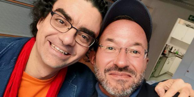 Gast und Moderator: Rolando Villazón und Holger Wemhoff