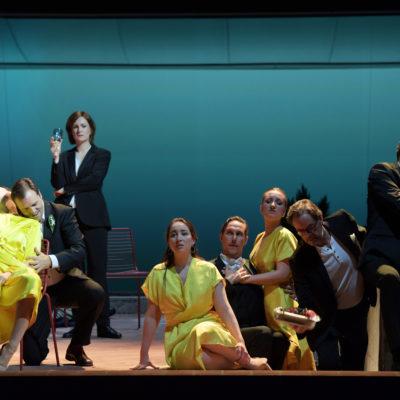"""Szene aus """"Pénélope"""" an der Oper Frankfurt"""