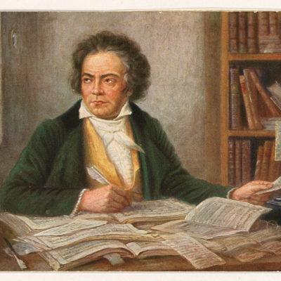 Komponieren ohne Instrument: Der taube Beethoven hört die Musik in seinem Kopf