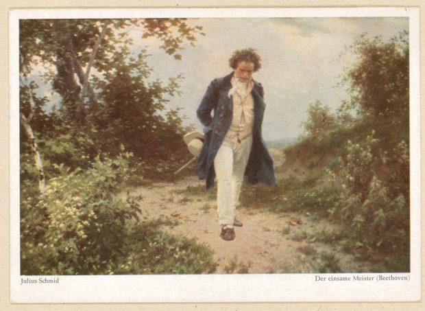"Naturfreund Beethoven: So sah Maler Julius Schmid den ""einsamen Meister"""