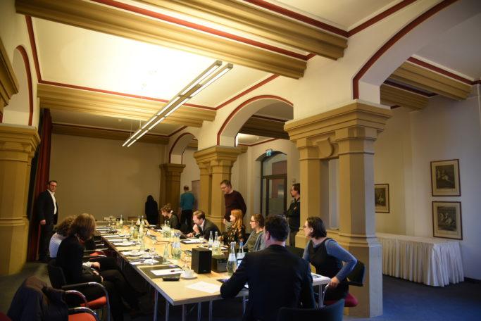 Kapitelsaal des Hotel Collegium Leoninum