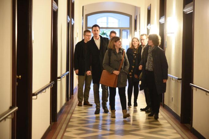 Ankunft im Hotel Collegium Leoninum