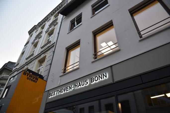 Kasse und Museumsshop des Beethoven-Hauses Bonn