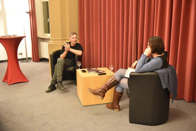 Susanne Bánhidai im Interview mit Dirk Kaftan