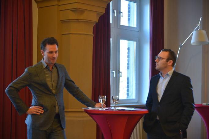 Gregor Burgenmeister und Felix Husmann