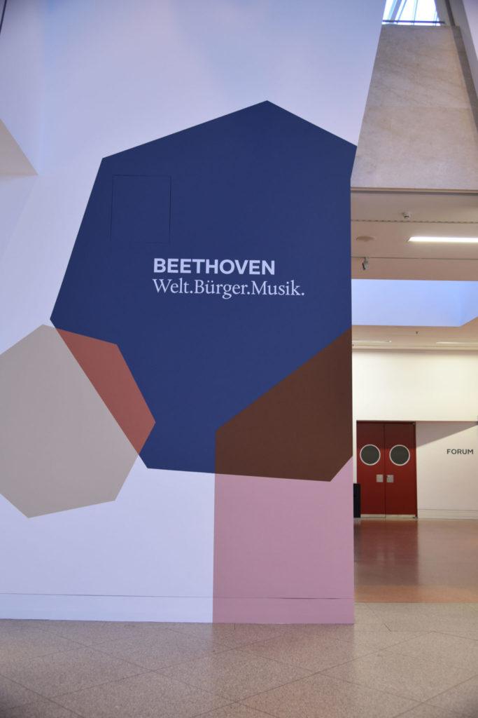 Eingang zur Beethoven-Ausstellung