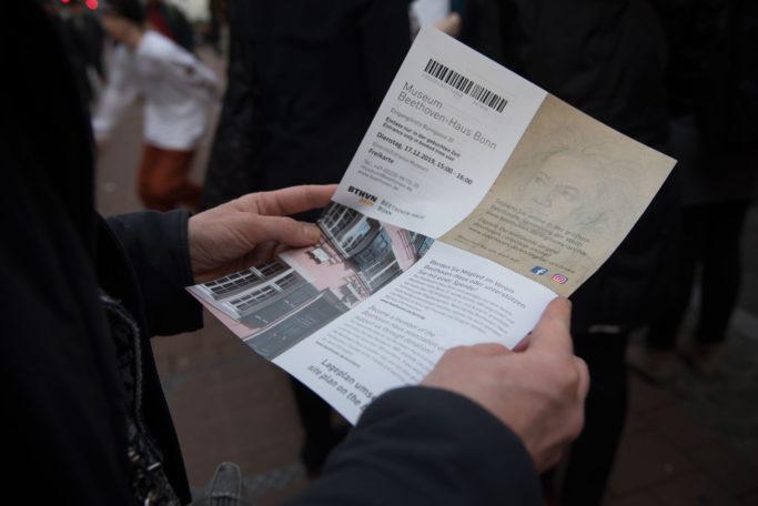 Eintrittskarte zum Beethoven-Haus Bonn
