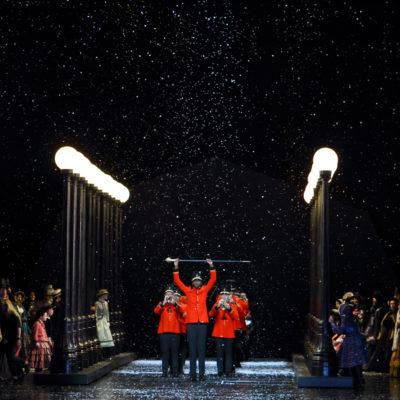 "Szene aus ""La Bohème"" am Royal Opera House"