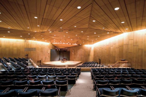 Mozartsaal in der Liederhalle Stuttgart