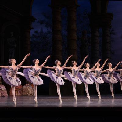 """Szene aus """"Dornröschen"""" am Royal Opera House"""