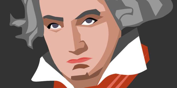 Beethoven als Clipart