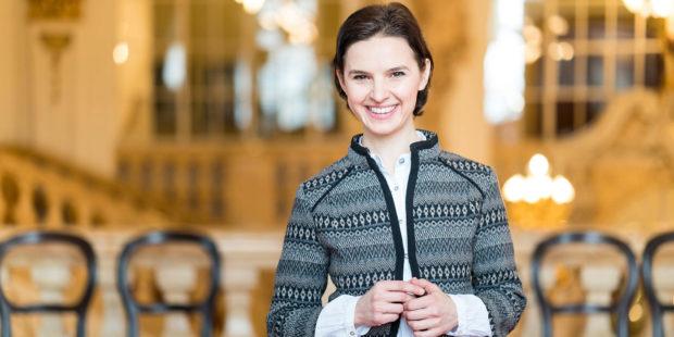 Wuchs als Tochter zweier Musiker auf: Oksana Lyniv