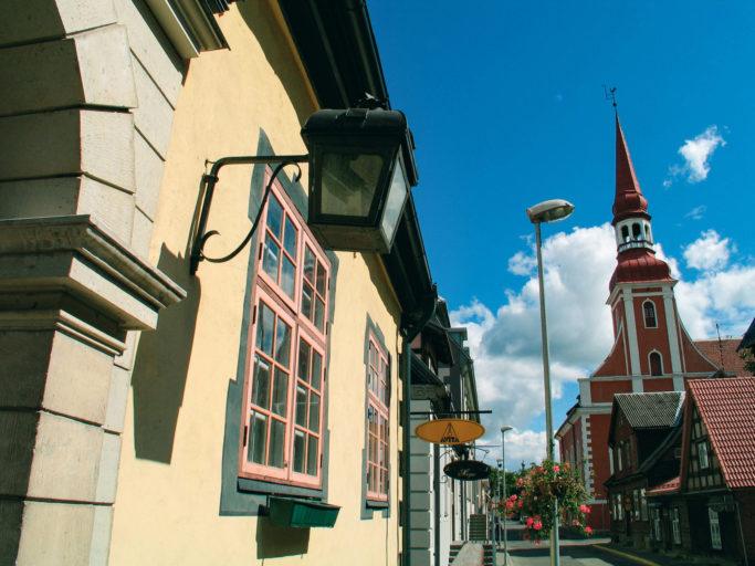Eine der schönsten barocken Kirchen Estlands: die Elisabeth-Kirche