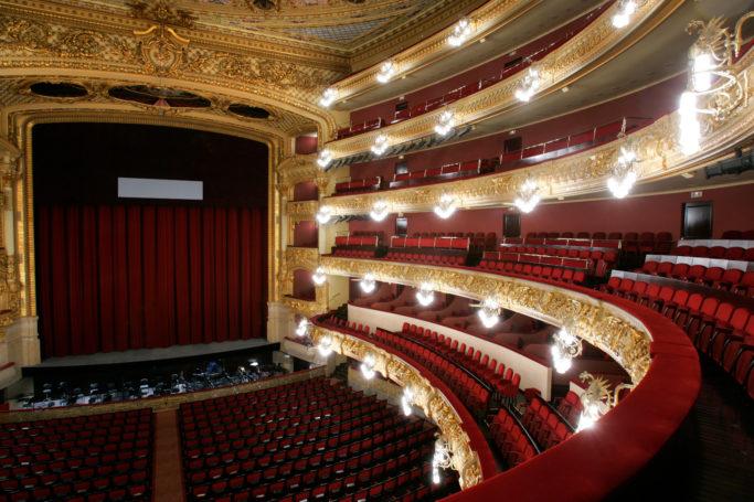 Innenansicht des Gran Teatre del Liceu