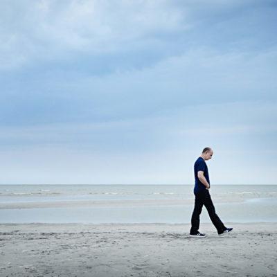 Paavo Järvi am Strand von Pärnu