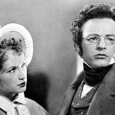 """Heinrich Schweiger als Franz Schubert in """"Franz Schubert – Ein unvollendetes Leben"""""""