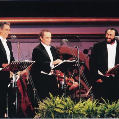 Die 3 Tenöre: Plácido Domingo, José Carreras und Luciano Pavarotti