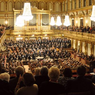 Goldener Saal des Musikvereinsgebäudes Wien