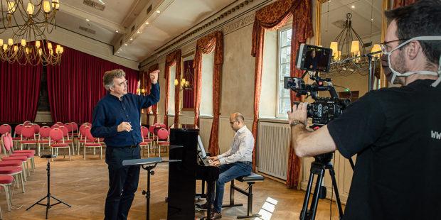 Virtuelle Chorprobe mit dem musikalischen Leiter des Kölner Männer-Gesang-Vereins Bernhard Steiner