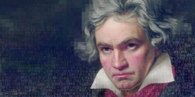 Telekom Beethoven Mosaik
