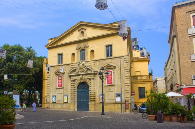 Das Teatro Rossini im italienischen Pesaro dient als Spielstätte für das Rossini Opera Festival