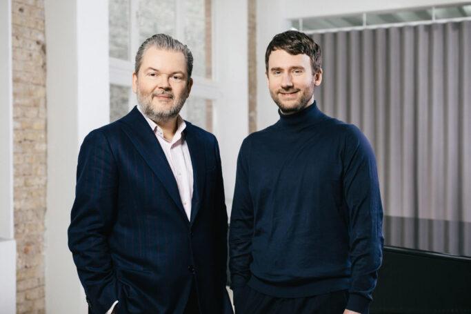 Die Idagio Gründer Till Janczukowicz und Christoph Lange