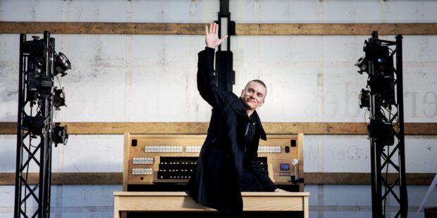 Unterwegs mit dem Orgel-LKW: Cameron Carpenter