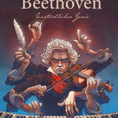 "Das Cover zu Peer Meters Graphic Novel ""Beethoven"""