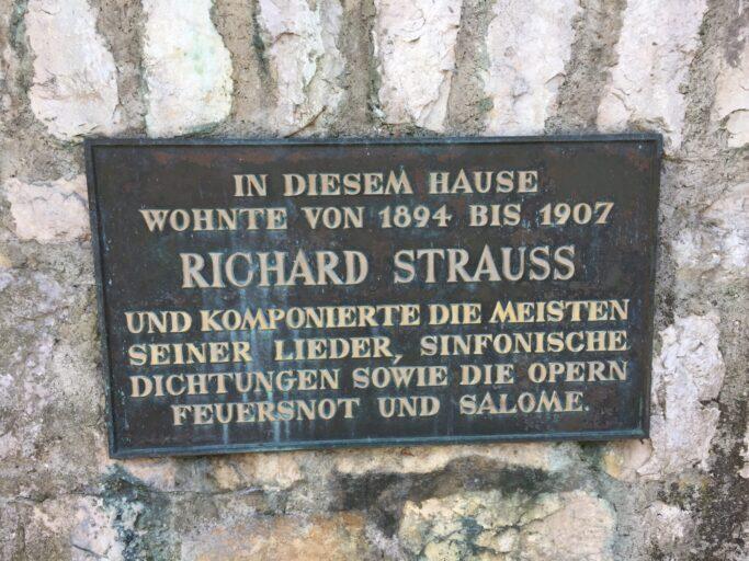 """In der Villa de Ahna komponierte Richard Strauss unter anderem seine Oper """"Salome"""""""