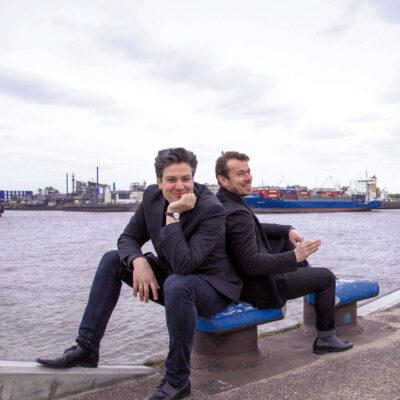Die TONALi-Gründer Amadeus Templeton und Boris Matchin
