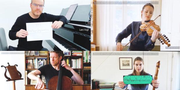 Prominente Unterstützer: Lars Vogt, Ragnhild Hemsing, Johannes Moser und Lucie Horsch