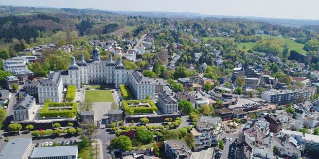 Blick auf Bergisch Gladbach