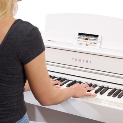 Mit der Flowkey-App lernt man das Klavierspiel mit seinen Lieblingssongs