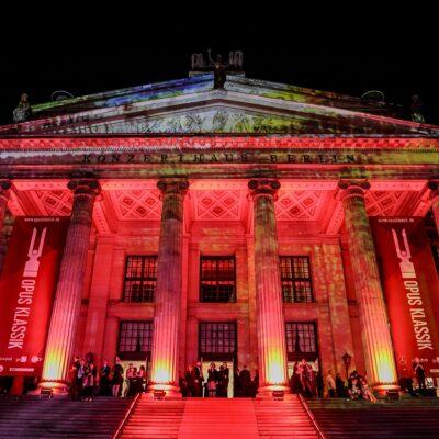 Zum dritten Mal findet im Konzerthaus Berlin die Verleihung des OPUS KLASSIK statt.
