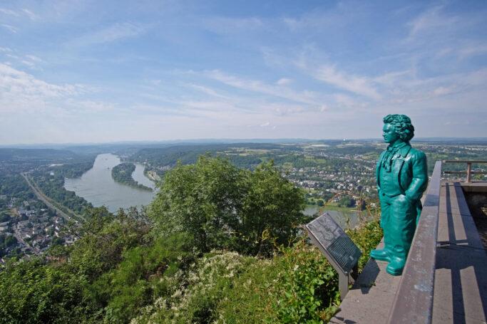 Aussichtsplateau auf dem Drachenfels