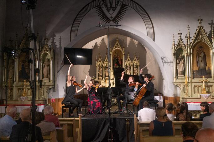 Kammerkonzert in der St. Anna Kirche in Grodszczice, Gräditz
