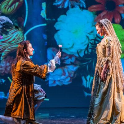 "Szene aus Rossinis ""La Cenerentola"" beim Regeneration Festival Florenz"