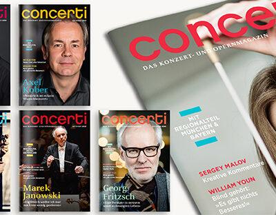 Druckfrisch: die concerti September-Ausgabe!
