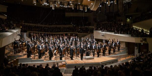 Berliner Philharmoniker mit Chefdirigent Kirill Petrenko