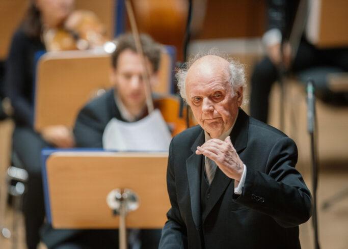 Marek Janowski dirigiert die Dresdner Philharmonie