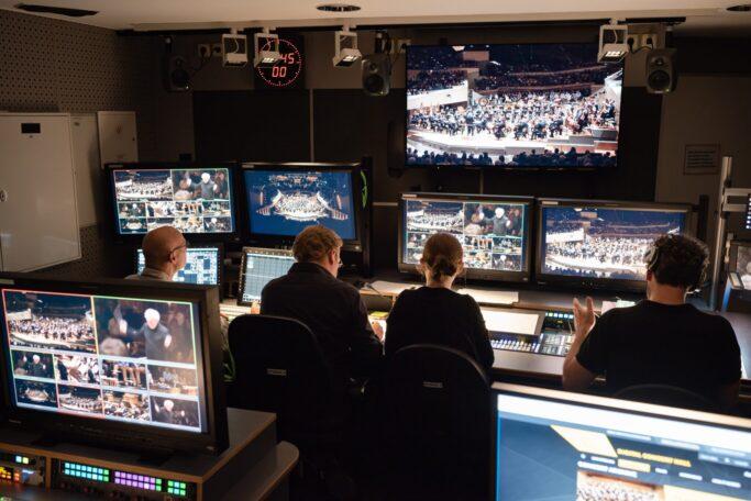 Hinter den Kulissen der Digital Concert Hall der Berliner Philharmoniker