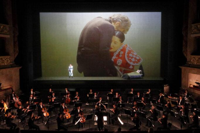 7 Deaths of Maria Callas: Nadezhda Karyazina (Carmen), Willem Dafoe (Filmdarsteller), Marina Abramović
