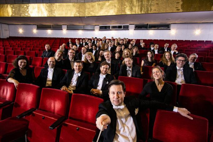 Benjamin Reiners und das Philharmonische Orchester Kiel