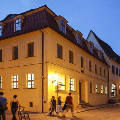 Heute ein Musikmuseum: Im Händel-Haus erblickte der Barockkomponist 1685 das Licht der Welt