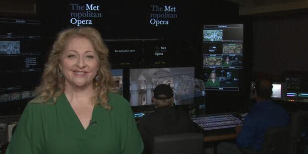 """Die US-amerikanische Sopranistin Christine Goerke führt als Moderatorin durch die Programme von """"Met Stars Live in Concert"""""""