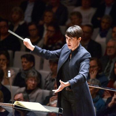 Zusammen mit Regisseurin Frauke Meyer entwickelte sie das Konzept für Eleonore: Dirigentin Susanne Blumenthal