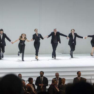 """Vorbild Salzburger Festspiele: Schlussapplaus bei Mozarts """"Così fan tutte"""""""