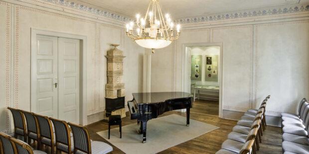 Musizieren im originalgetreuen Ambiente: der Schumann-Saal